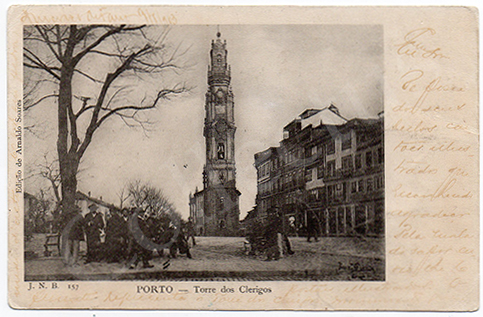 Postal antigo do Porto