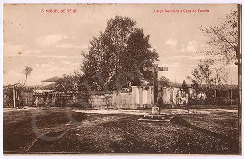 Postal antigo de São Miguel de Seide - Famalicão
