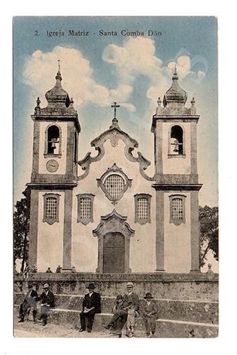 Postal antigo de Santa Comba Dão