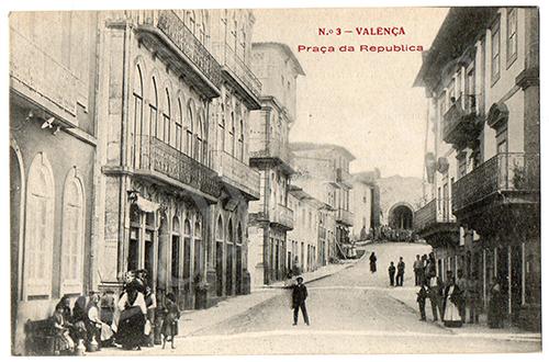Postal antigo de Valença