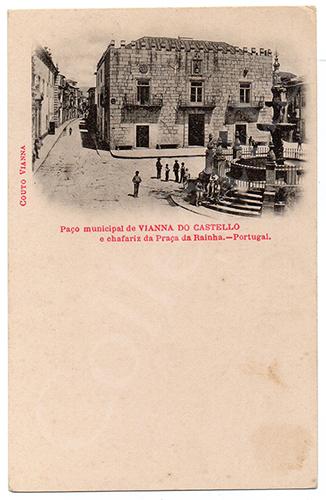 Postal antigo de Viana do Castelo