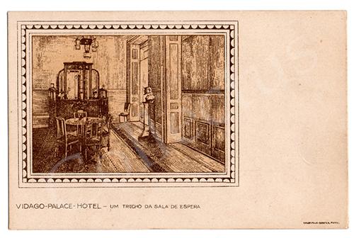 Postal antigo de Vidago
