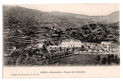 Postal antigo de Vieira