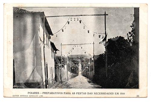 Postal antigo de Poiares