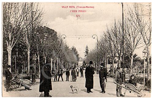 Postal antigo de Vila Real