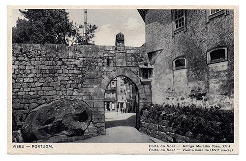 Postal antigo de Viseu