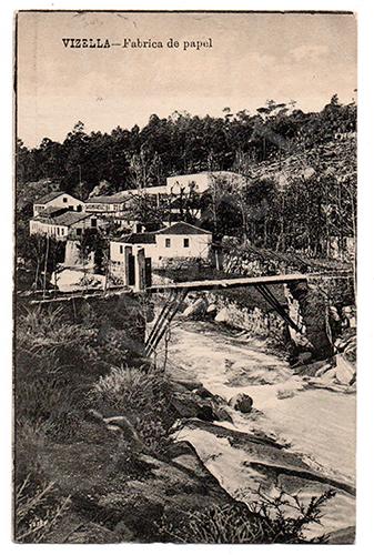 Postal antigo de Vizela