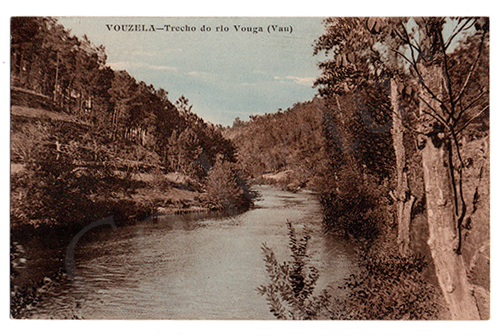 Postal antigo de Vouzela