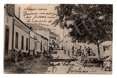 Postal antigo do Cartaxo