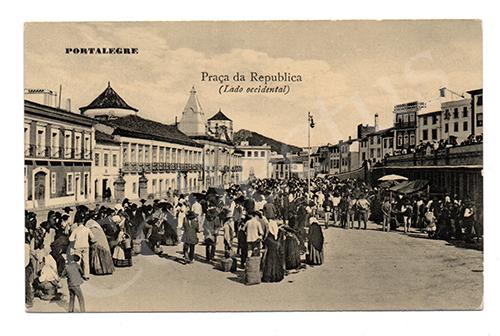 Postal antigo de Portalegre