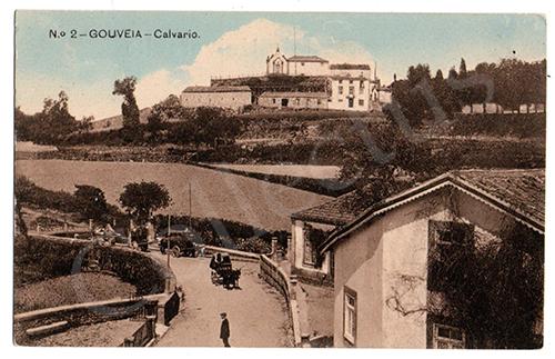Postal antigo de Gouveia