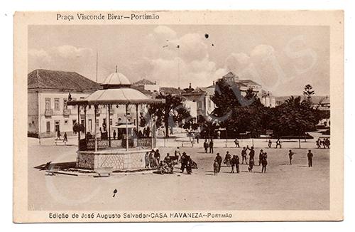 Postal antigo de Portimão