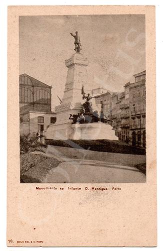 Postal antigo Arrabaldes do Porto. Edição Emílio Biel
