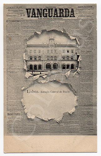 Postal publicitário português